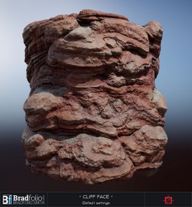 Substance: Red Cliff Face | Default Settings
