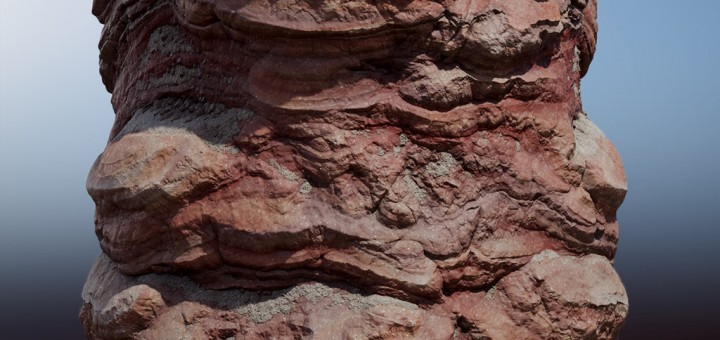 Substance: Red Cliff Face