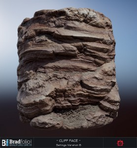 Substance: Red Cliff Face | Settings Variation A