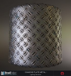 Substance: Diamond Plate Metal
