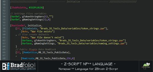 Notepad++ ZScript Syntax Language