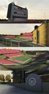 Arkansas State Stadium Textures
