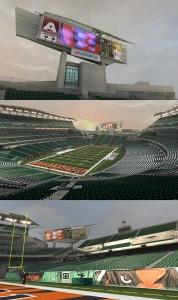 Bengals Stadium Textures