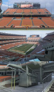 Browns Stadium Textures