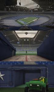 Cowboys Stadium Textures