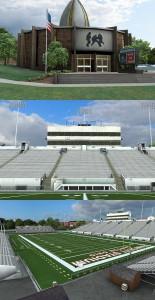 Fawcett Stadium Textures