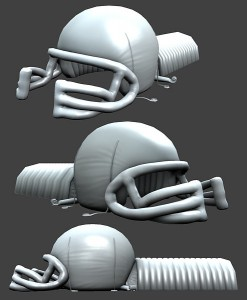 Inflatable Helmet Sculpt