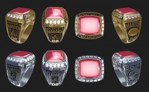 Madden NFL 08 Champion Rings