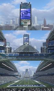 Seahawks Stadium Textures