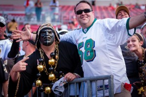 New Orleans Saints at Tampa Bay Buccaneers Fans