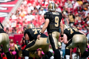 New Orleans Saints at Tampa Bay Buccaneers Drew Brees