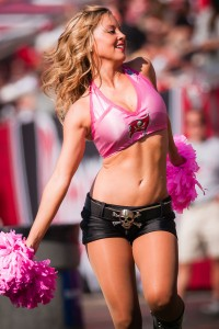 New Orleans Saints at Tampa Bay Buccaneers Cheerleaders