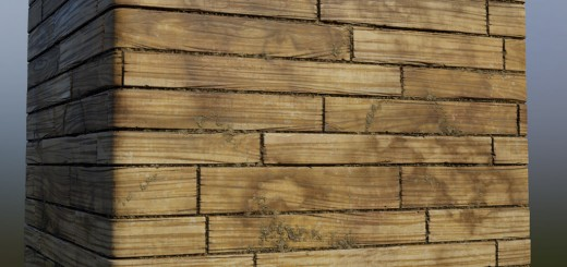 Polycount Weekly Substance Challenge #3 | Wood Planks