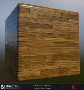 Polycount Weekly Substance Challenge #3 | Wood Planks | Settings: New & Clean