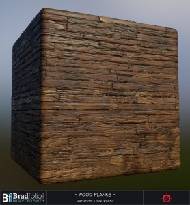 Polycount Weekly Substance Challenge #3 | Wood Planks | Settings: Dark Rustic
