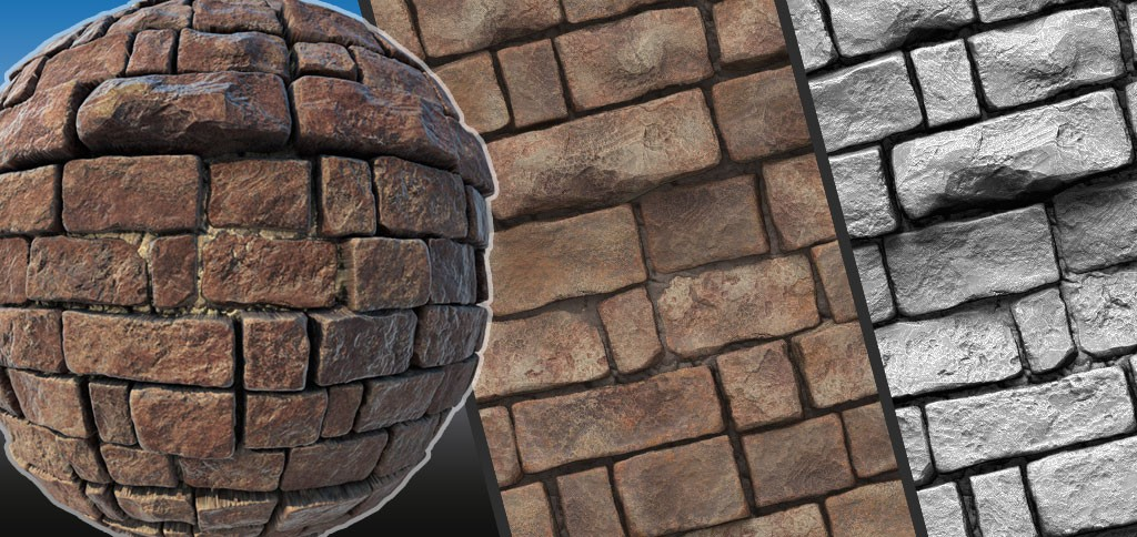 ZBrush Tiling Textures in 2.5D Tutorial Series, Parts 1-3