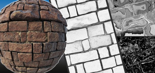 ZBrush Tiling Textures in 2.5D Tutorial Series, Parts 4-6