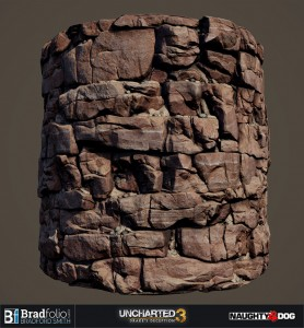 Uncharted 3 | Material: Rock Wall