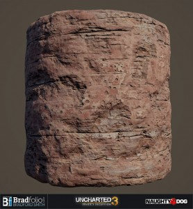 Uncharted 3 | Material: Rock Surface