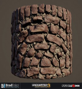 Uncharted 3 | Material: Stone Wall