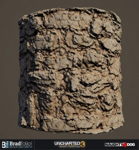 Uncharted 3 | Material: Mud and Stone Wall